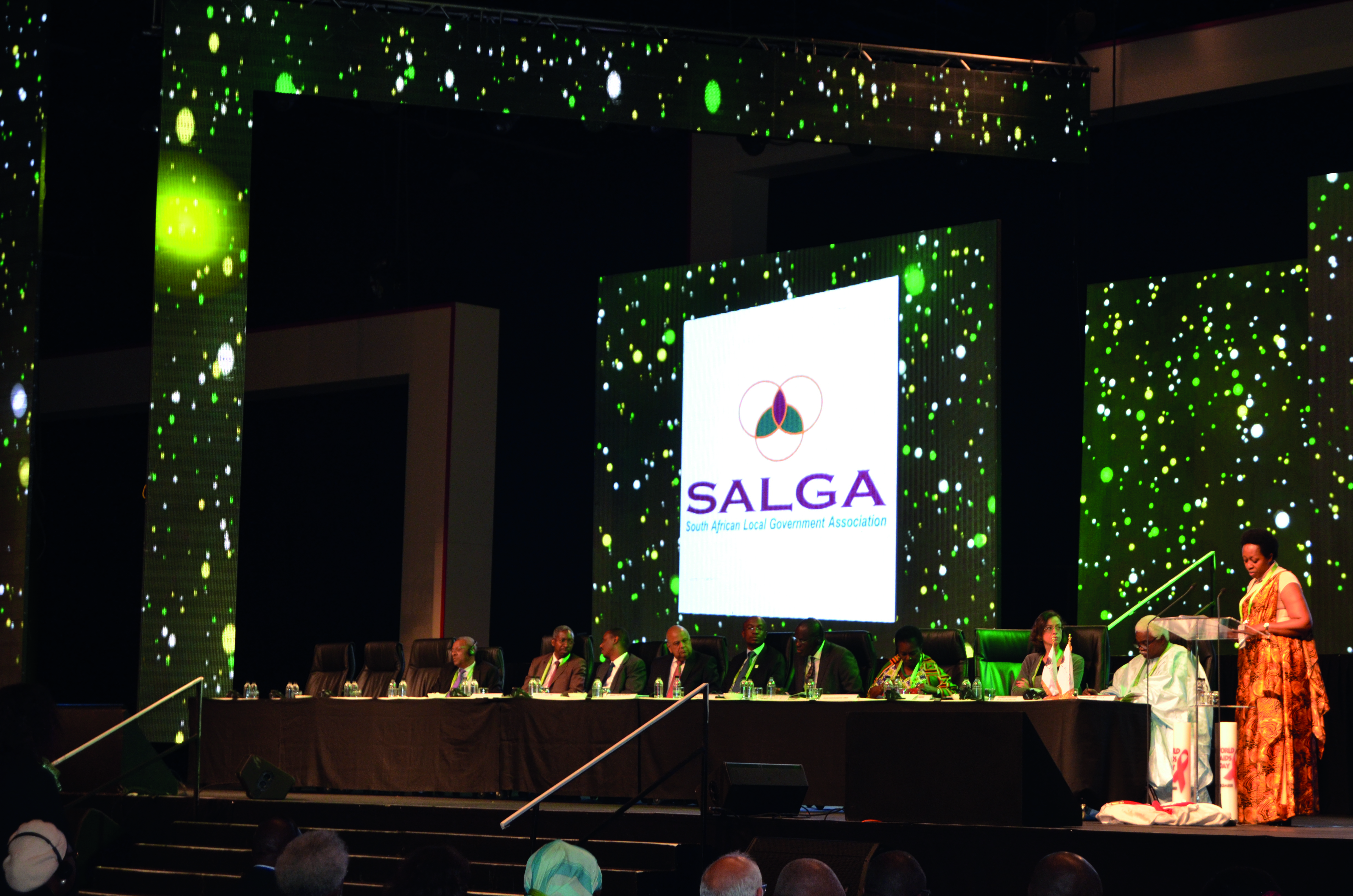 Delegates at the SALGA Awards Celebrating 15 Years of Restoring Human Dignity event.