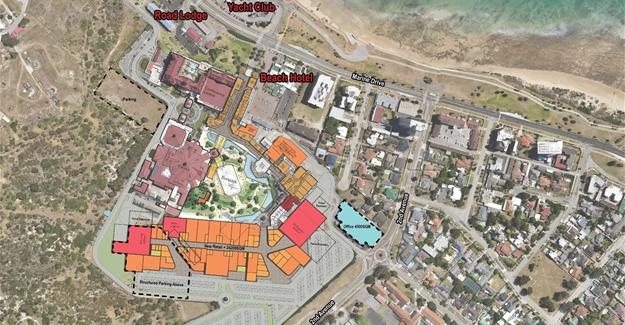 Location of the future development in PE.
