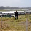 Karen Petersen on site at Cornubia Industrial and Business Estate.
