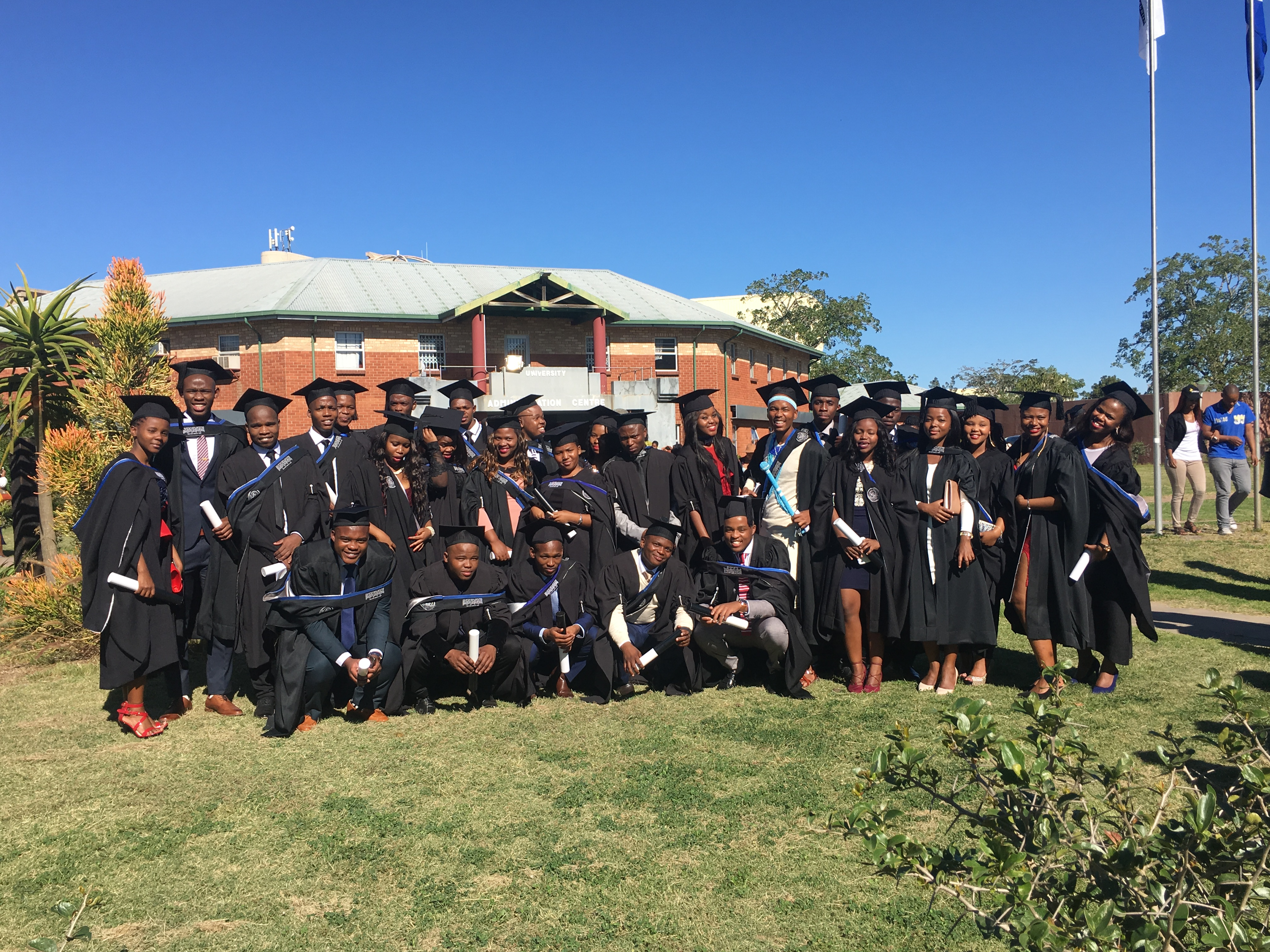The University's first Chartered Accounting Students Graduation.