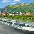 Artist's rendering of Crystal River Cruises river yacht