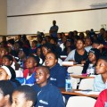 Last week, matric learners work to improve their maths, accounting and science marks at SAICA's KZN Thuthuka development camp.