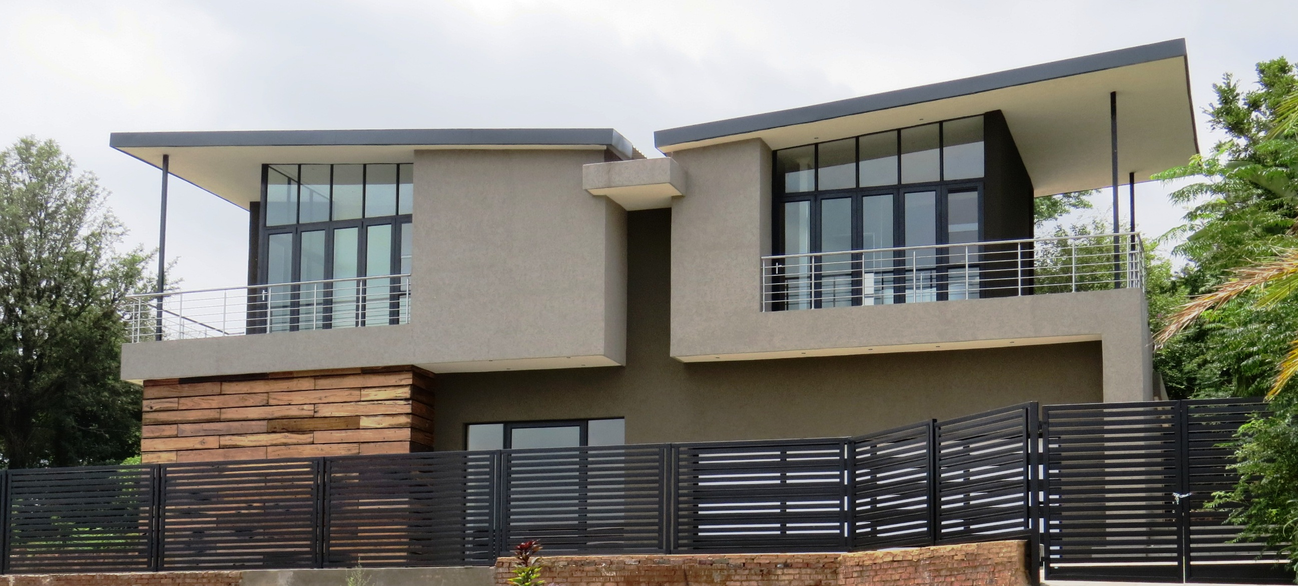 potgieter house a light steel frame showpiece