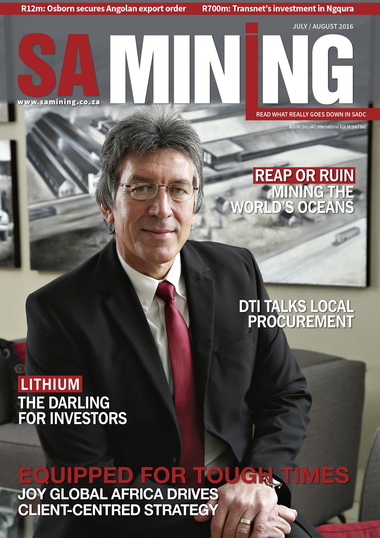 SA Mining Jul-Aug 2016
