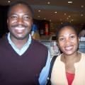 Image: Dr. Mcebisi Ndletyana and Dorothy Ndletyana.