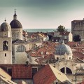 Image: iStock - Dubrovnik Old Town roofs at sunset.