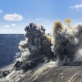 Image: iStock - Blast in open cast mining quarry