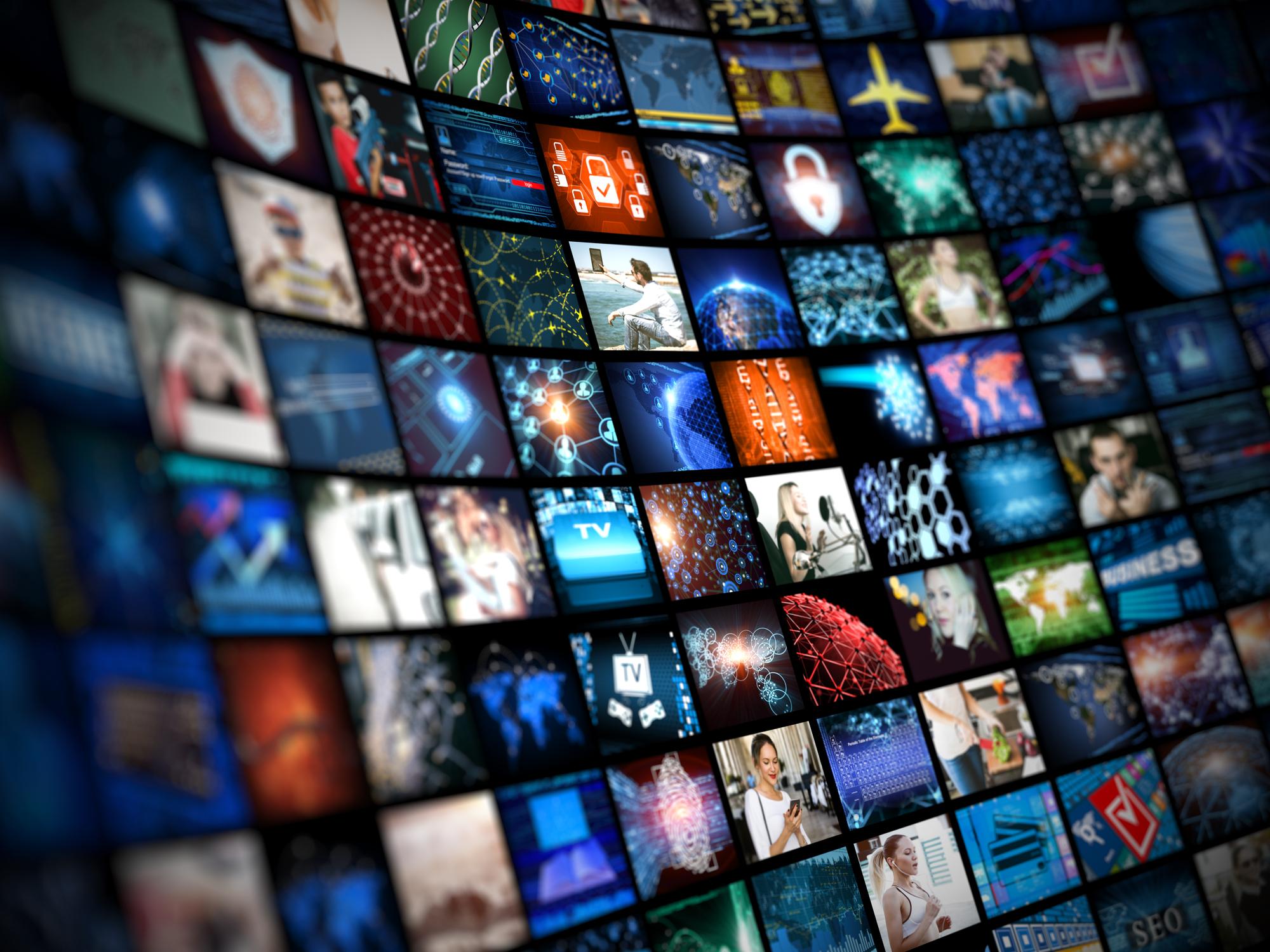 Image: iStock - Media concept smart TV