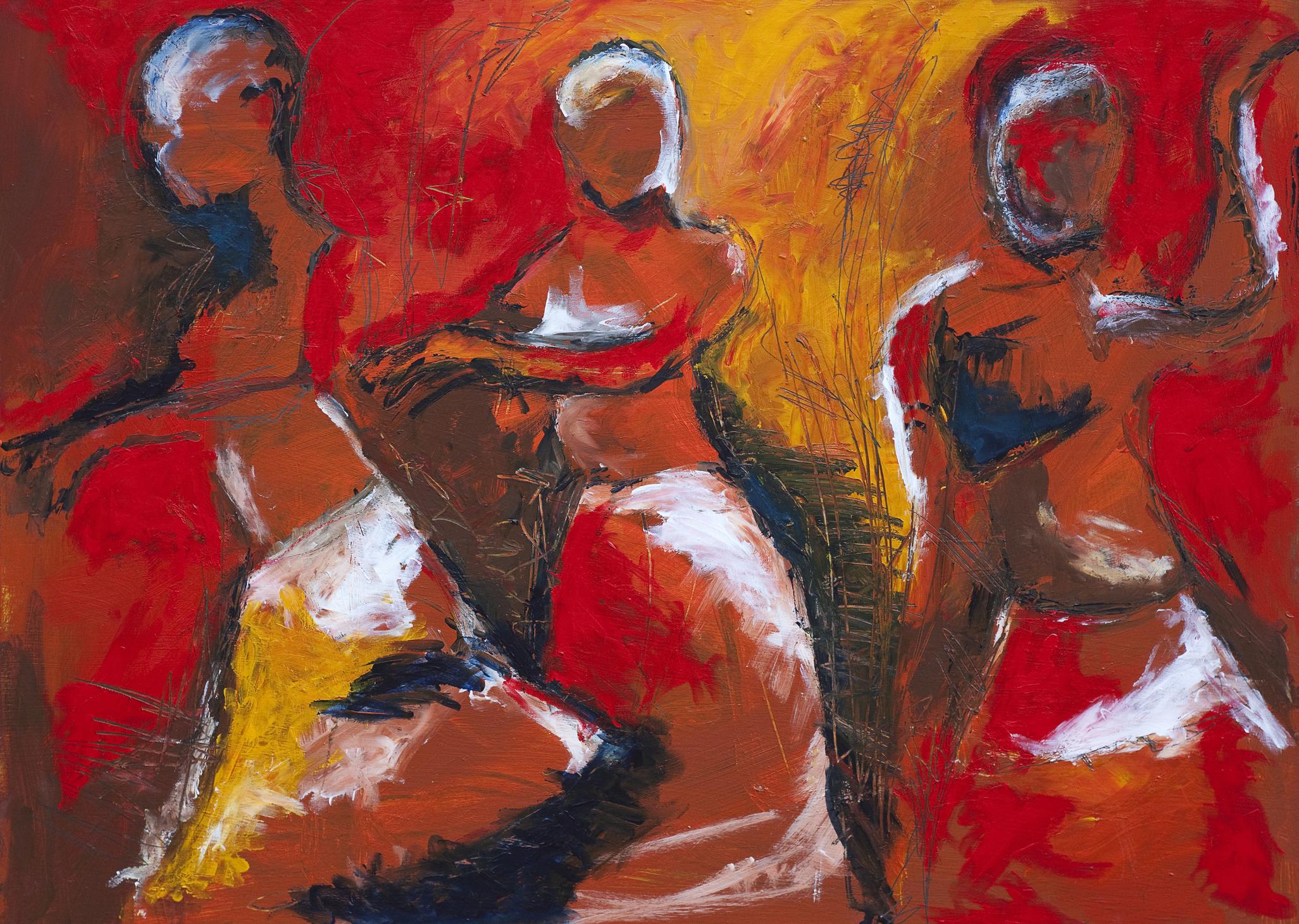 Image: iStock© Claudiad - African dancers