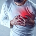 Image: iStock© - Severe heartache, man suffering from chest pain.