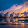 Image: ©iStock - Power plant at night