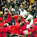 Image: The EFF challenges fellow MPs and South Africans to pay greater interest in what happens in parliament