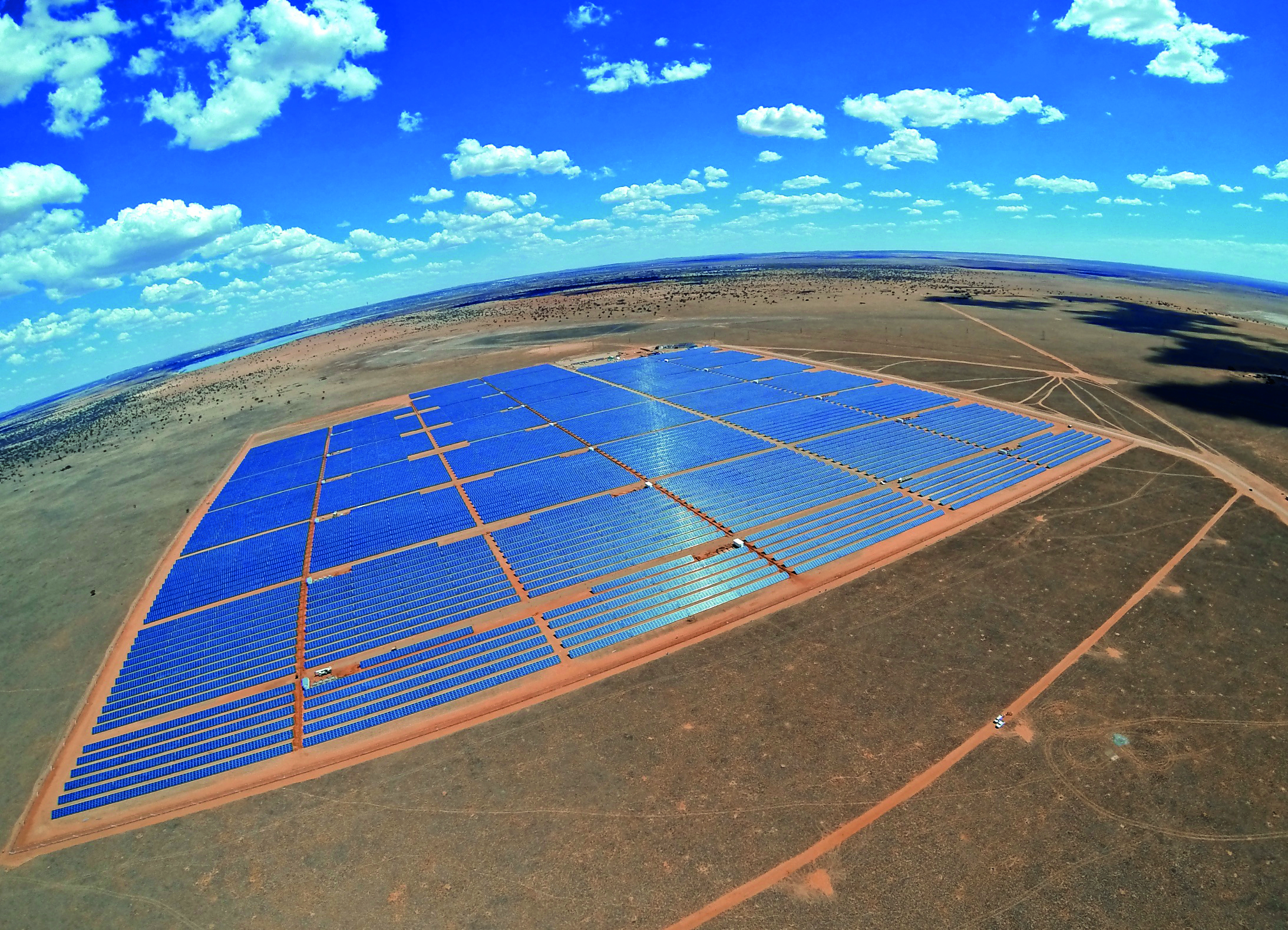 Image: Droogfontein Solar Power Facility