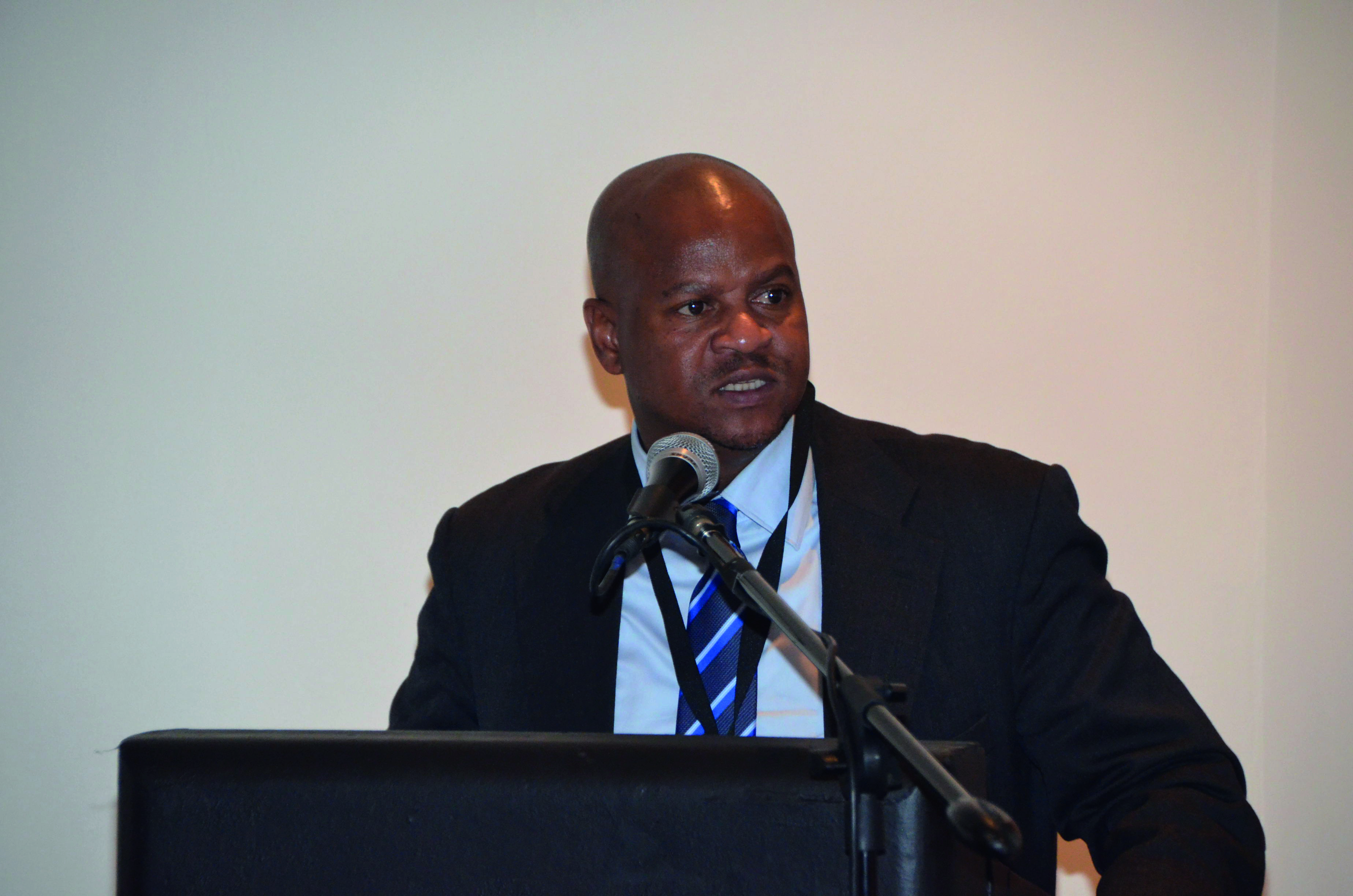 Image: SALGA's Executive Director of Municipal Finance Simphiwe Dzengwa