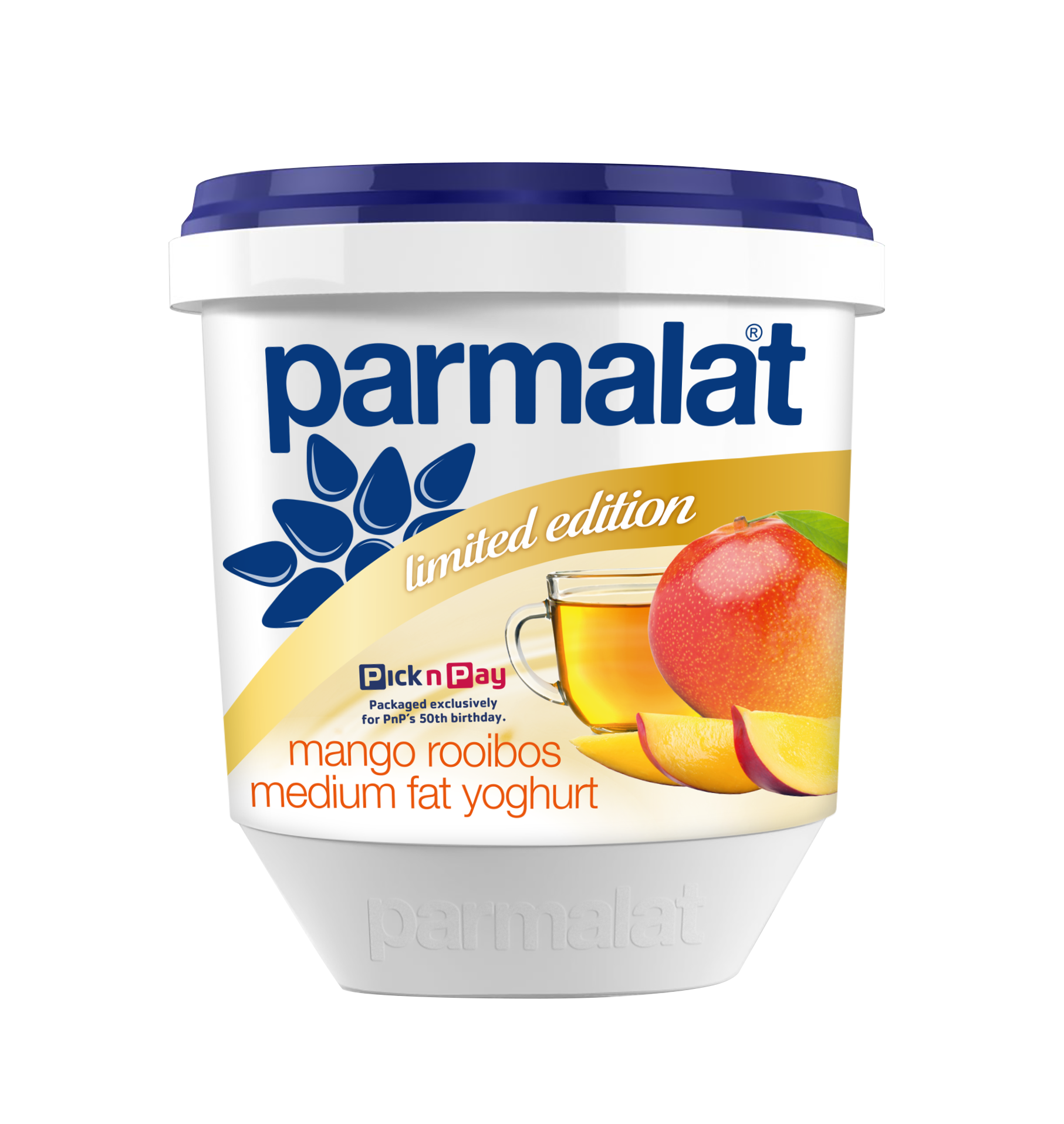 Image: The Parmalat Mango Rooibos Yoghurt is a Limited Edition product only available at Pick n Pay