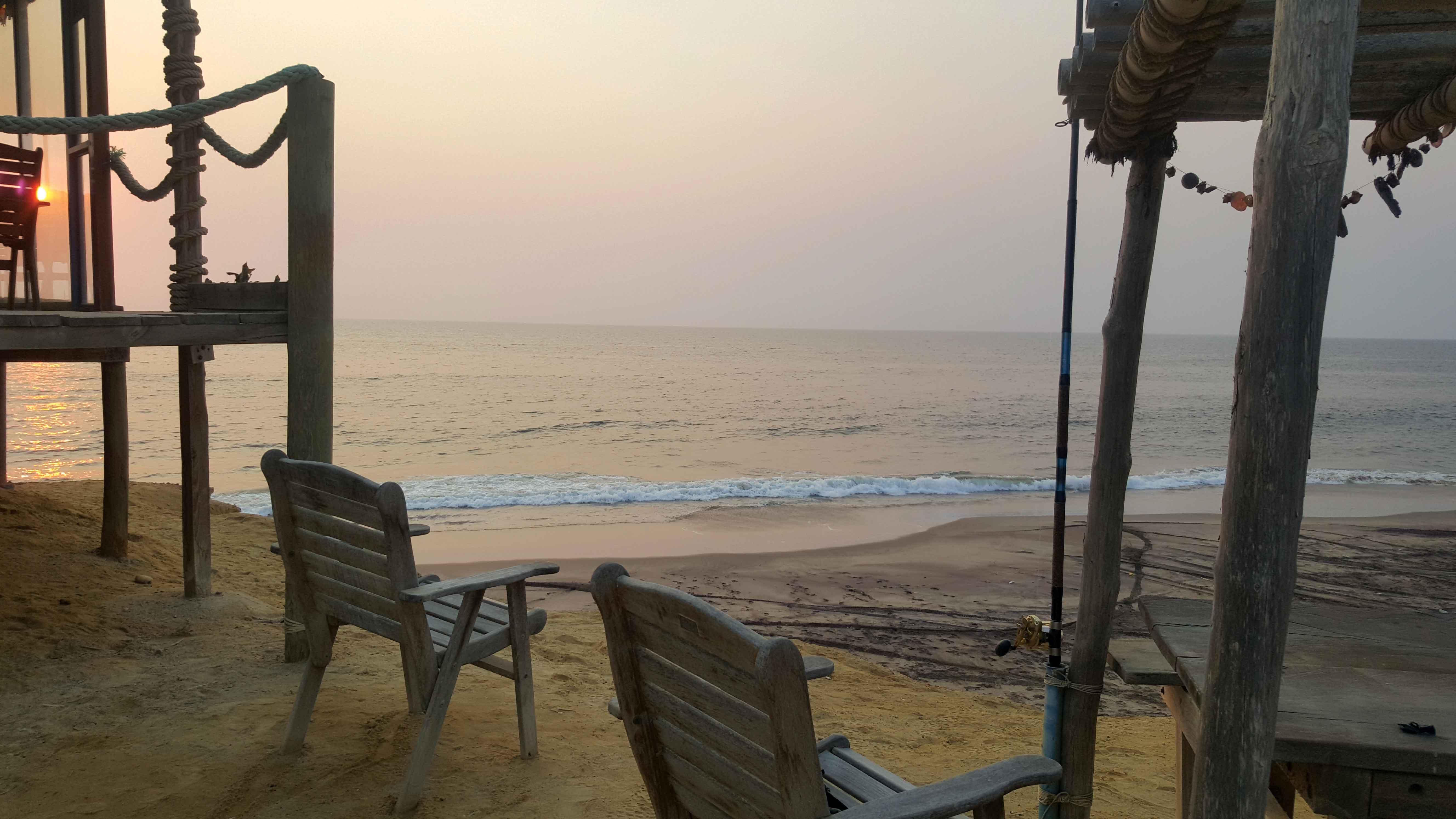 Image: Southern Angolan shore