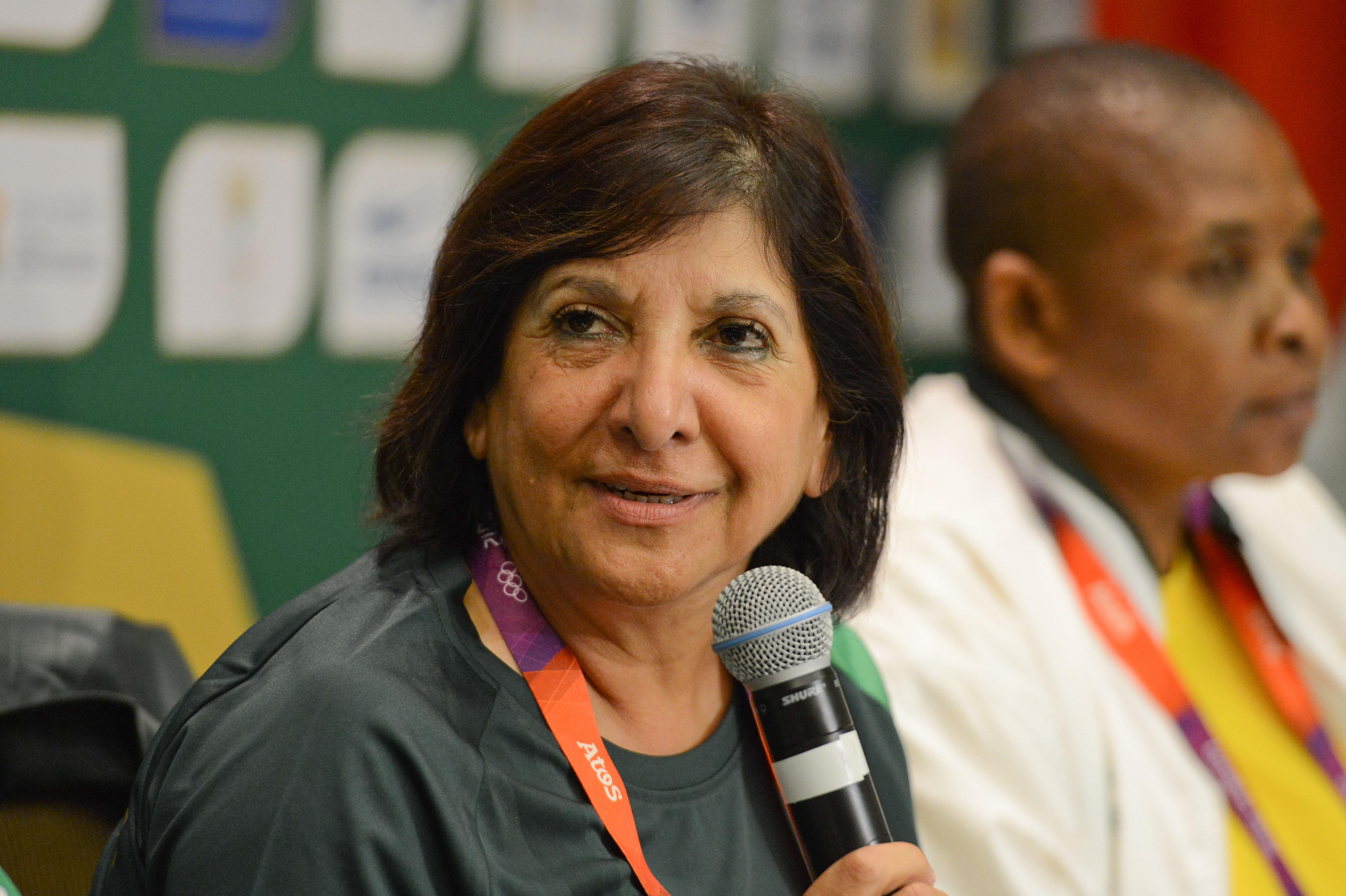 Image: Hajera Kajee - 2012 London Olympics: Team SA press conference
