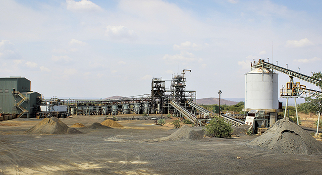 Image: The Munali Nickel mine in southern Zambia