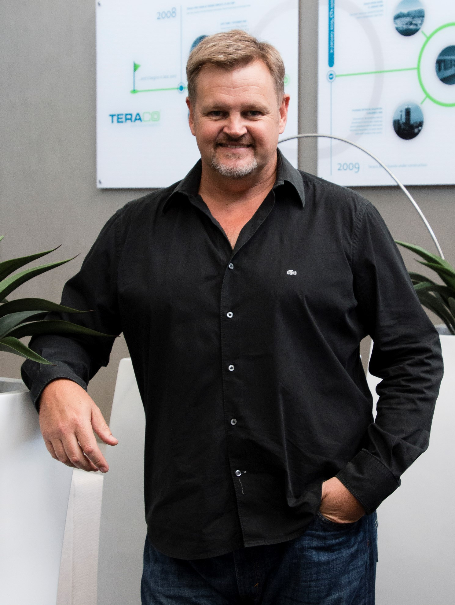 Image: Lex van Wyk, CEO, Teraco