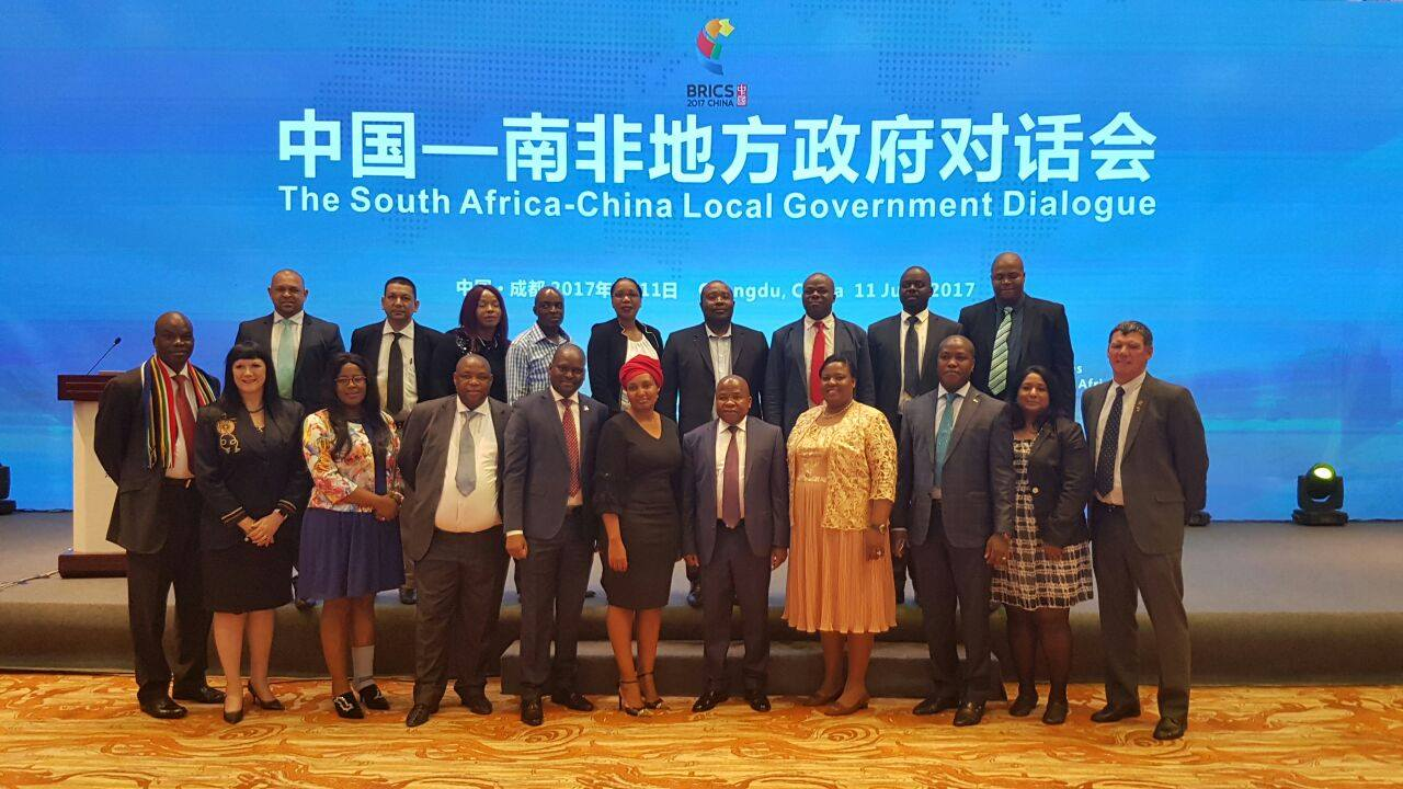 Images: Delegates at the South Africa-China Local Government Dialogue
