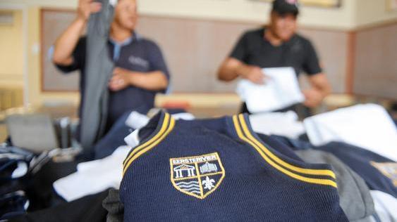 Image: School uniforms