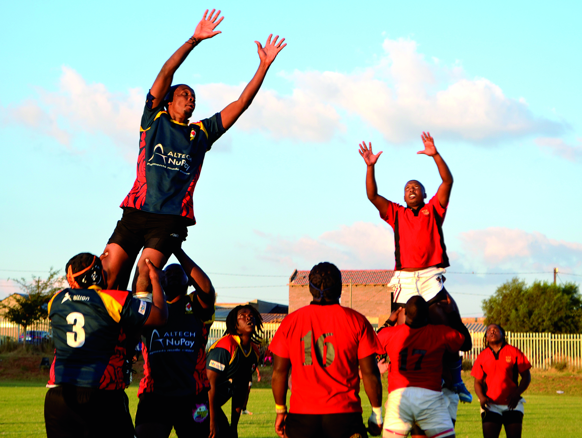 Image: The Soweto Rugby Team