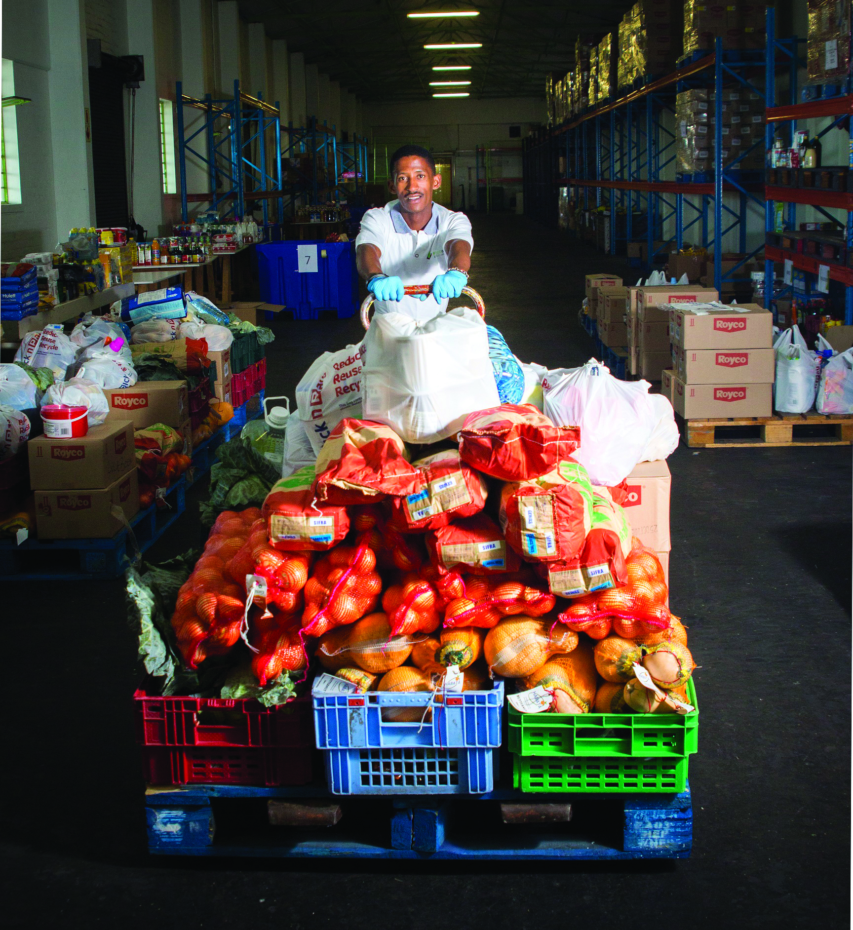 Image: Food donations