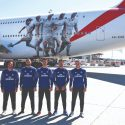Image: Emirates unveils a new Real Madrid A380