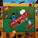 Image: Richard Mudariki Monopoly, acrylic on canvas, 120 x 140 cm, 2018
